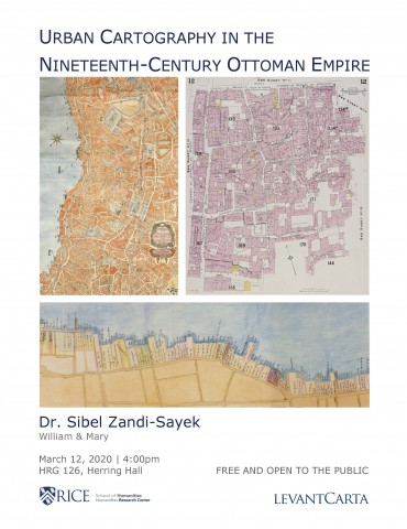 *postponed* new date TBD - Urban Cartography in the Nineteenth-Century Ottoman