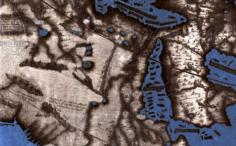 "Spatial Humanities Public Lecture: ""New Light on Henricus Martellus's World Map at Yale (c. 1491): Multispectral Imaging and Early Renaissance Cartography""by Chet Van Duzer"